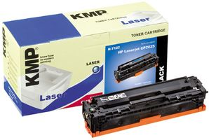 KMP H-T122 Toner black compatible with HP CC 530 A (1218,0000)