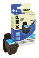 KMP H13 ink cartridge black compatible with HP C 8727 AE (0997,4271)