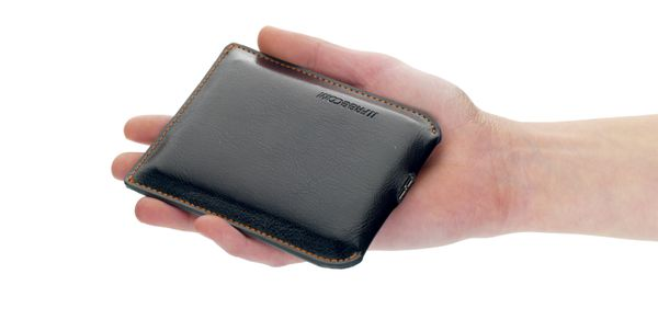 Mobile Drive XXS Leather 500GB