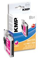 KMP B31 ink cartridge magenta compatible w. LC-980/ LC-1100 M (1521,5226)
