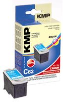 C62 ink cartridge color compatible with Canon CL-38