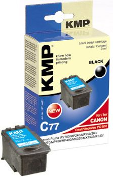 C77 ink cartridge black compatible with Canon PG-510
