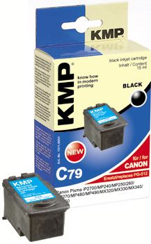 C79 ink cartridge black compatible with Canon PG-512