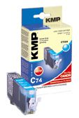 C74 ink cartridge cyan compatible with Canon CLI-521 C
