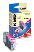 C75 ink cartridge magenta compatible with Canon CLI-521 M