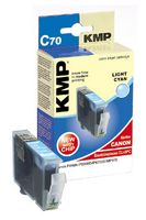 KMP C70 ink cartridge photo cyan compatible with Canon CLI-8 PC (1505,0043)