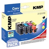 C66V Promo Pack   BK/C/M/Y comp. with Canon PGI-5 / CLI-8