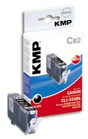 KMP C82 ink cartridge black compatible with Canon CLI-526 BK (1514,0001)