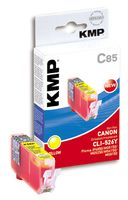 KMP C85 ink cartridge yellow compatible with Canon CLI-526 Y (1515,0009)