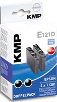 E121D ink cartridge BK 2pcs compatible with Epson T 128