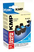 H29D ink cartridge BK 2pcs compatible with HP C 9351 AE