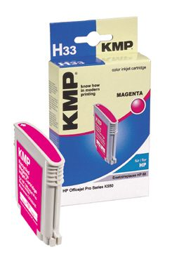 H33 ink cartridge magenta comp. w. HP C 9392 AE No. 88 XL