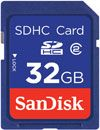 SANDISK Secure Digital Card 32GB SDHC - qty 1