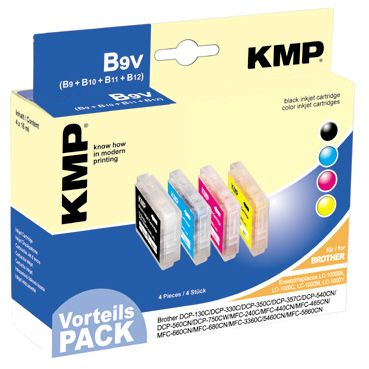 B9V Promo Pack compatible with LC-1000 Bk/C/M/Y
