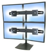 3PO ERGOTRON DS100 DESK STAND QUAD MONITOR