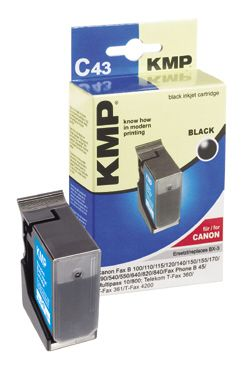 C43 ink cartridge black compatible with Canon BX2/BX3