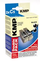 C5D ink cartridge BK DP compatible with Canon BCI-3e BK