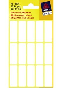 AVERY 3076 Handwriting labels 38x14 (90) (3076)