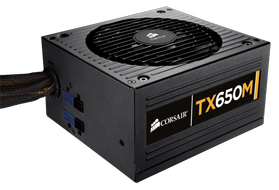 CORSAIR Power Supply 650W TX M Modular, ATX, PS/2 (CP-9020002-EU)