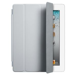 APPLE EOL iPad Smart Cover - Polyurethane - Light Gray, iPad 2/3/4 (MD307ZM/A)
