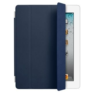 iPad Smart Cover - Leather - Navy