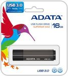 A-DATA 16GB USB Stick S102 Pro USB 3.0 gray (AS102P-16G-RGY)