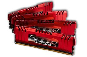 G.SKILL DDR3-1600 8GB G.SKILL/ CL9/ Kit 4x2GB/ RipjawsZ (F3-12800CL9Q-8GBZL)