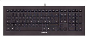 STRAIT BLACK CORDED KEYBOARD