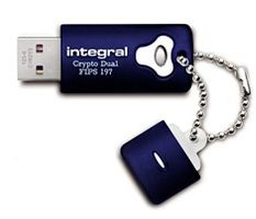 USB Crypto Dual Drive 16GB Win/MAC FIPS197