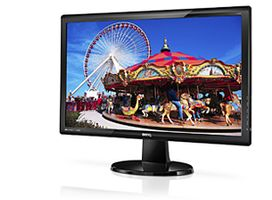"24"" LED GL2450HM 1920x1080,  40000:1, 2ms, speaker, VGA/ DVI/ HDMI"