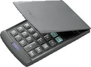 CANON LS-39E pocket calculator handy size with casing 8-digit euro-currency translation