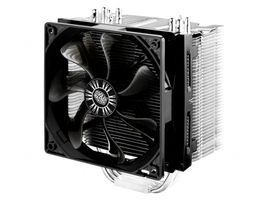 Cooler Master CPU Cooler Universal incl. LGA 2011 high-end silent cooler 4 CDC heatpipes 120mm 1300-900RPM fan with fanspeed adapter Hype (RR-H412-13FK-R1)