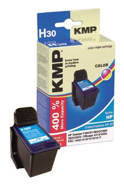H30 ink cartridge color compatible with HP C 9352 AE