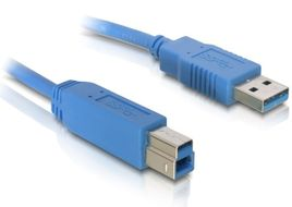 DELOCK Cable USB3.0 A-B male/male 1m (82580)