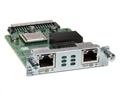 2-PORT 3RD GEN MULTIFLEX TRUNK VOICE/WAN INT. CARD - T1/E1      IN CPNT