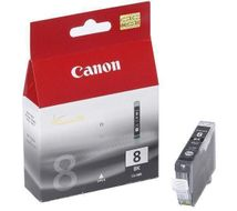 CANON CLI 8Bk - Blekkbeholder - 1 x svart - blister with security (0620B029)