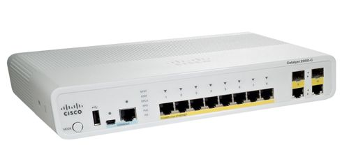 CISCO CATALYST 2960C SWITCH 8 FE POE (WS-C2960C-8PC-L)