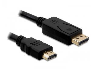 DELOCK Displayport/ HDMI, 1m