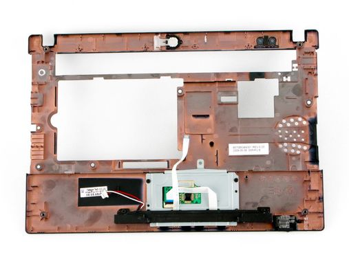 Upper CPU cover w/ TouchPad