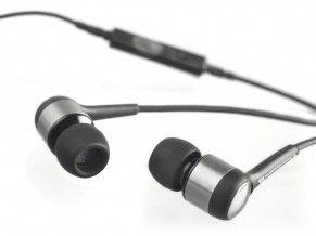 MMX101 iE, sort In-Ear, hands-free,  støtter iPod/ iPhone