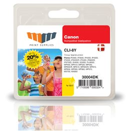 MM Yellow Inkjet Cartridge (CLI-8Y)