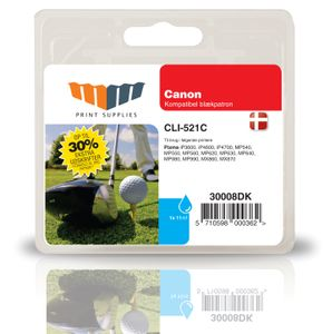 MM Cyan Inkjet Cartridge (CLI-521C)