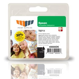 MM Black Inkjet Cartridge (T0711)