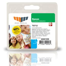 MM Cyan Inkjet Cartridge (T0712)