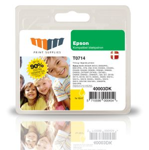 MM Yellow Inkjet Cartridge (T0714)