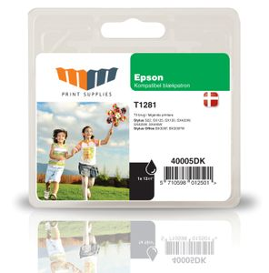 MM Black Inkjet Cartridge (T1281)
