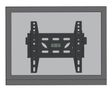 NEWSTAR LED-W220 wall mount is a tiltable LCD/LED wallmount and compatible for screens up to 40 Inch 100 cm