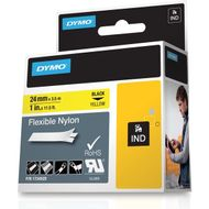 RHINOPRO 1IN YELLOW FLEXIBLE NYLON TAPE CARTRIDGE