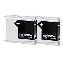 BROTHER LC-1000 INKTANK BLK(2) (LC1000BKBP2)