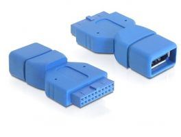 Kabel Adapter USB Pinheader Bu.>USB2.0 Bu.